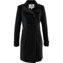 Płaszcz bonprix czarny. Czarne płaszcze damskie bonprix. Za 199.99 zł.