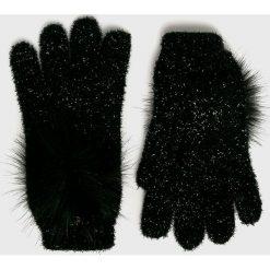 Liu Jo - Rękawiczki. Czerwone rękawiczki damskie Liu Jo, z dzianiny. Za 219.90 zł.
