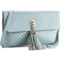 Torebka JENNY FAIRY - RH0310A  Niebieski Jasny. Niebieskie torebki do ręki damskie Jenny Fairy, ze skóry ekologicznej. Za 59.99 zł.