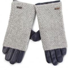 Rękawiczki Damskie WITTCHEN - 39-6-563-GC Granatowy. Niebieskie rękawiczki damskie Wittchen, z materiału. Za 249.00 zł.