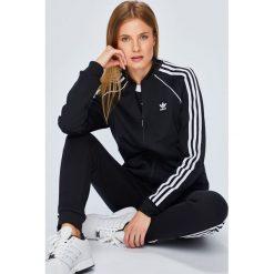 Adidas Originals - Bluza. Szare bluzy damskie adidas Originals, z bawełny. Za 279.90 zł.