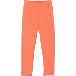 """Legginsy """"Vonne"""" w kolorze pomarańczowym. Legginsy dla dziewczynek marki OROKS. W wyprzedaży za 42.95 zł."""