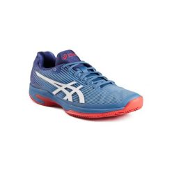 Buty tenisowe Asics Gel Solution Speed 3 na mączkę ceglaną męskie. Szare buty sportowe męskie Asics. W wyprzedaży za 369.99 zł.