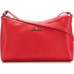 Torebka damska 36-4-079-3. Czerwone torebki do ręki damskie Wittchen, w paski. Za 299.00 zł.