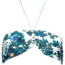 """Biustonosz bikini """"Adella"""" w kolorze turkusowo-morskim. Biustonosze Brunotti, w paski. W wyprzedaży za 56.95 zł."""