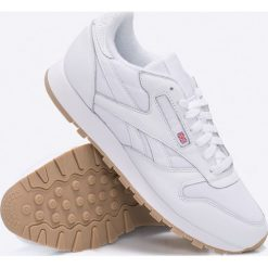 Reebok Classic - Buty CL Leather Estl. Szare buty sportowe męskie Reebok Classic, z gumy. W wyprzedaży za 229.90 zł.
