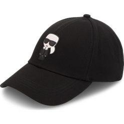 Czapka z daszkiem KARL LAGERFELD - 81KW3408 Black. Czarne czapki i kapelusze męskie KARL LAGERFELD. Za 229.00 zł.