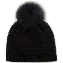 Czapka MARELLA - Truppa 65760185 001. Czarne czapki i kapelusze damskie Marella, z materiału. Za 329.00 zł.