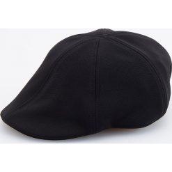 Kaszkiet - Czarny. Czarne czapki i kapelusze męskie Reserved. Za 49.99 zł.