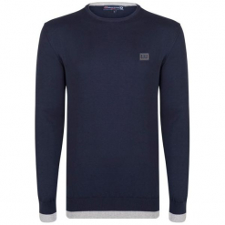 Giorgio Di Mare Sweter Męski Xxl Ciemny Niebieski. Niebieskie swetry przez głowę męskie Giorgio di Mare. W wyprzedaży za 159.00 zł.