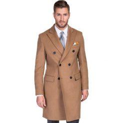 Płaszcz GASTANO PSKS000036. Brązowe płaszcze męskie Giacomo Conti, na jesień, z poliamidu, eleganckie. Za 999.00 zł.