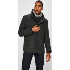 Medicine - Płaszcz Scandinavian Comfort. Czarne płaszcze męskie MEDICINE, z materiału. W wyprzedaży za 399.90 zł.