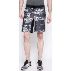Reebok - Szorty Super Nasty Crossfit. Szare krótkie spodenki sportowe męskie Reebok, z bawełny. W wyprzedaży za 179.90 zł.