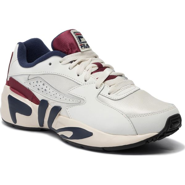 Details about Fila Mindblower Men's Sneaker 1010574.02F White Green Shoes Retro Trainers New