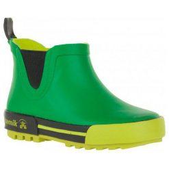 Kamik Kalosze Rainplaylo Green/Vert 30. Kalosze chłopięce marki bonprix. W wyprzedaży za 99.00 zł.