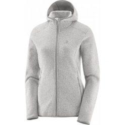 Salomon Bluza Polarowa Bise Hoodie W Vaporous Gray Xs. Szare bluzy damskie Salomon, z polaru. W wyprzedaży za 399.00 zł.