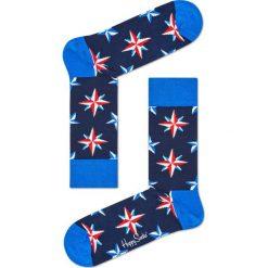 Happy Socks - Skarpety Nautical. Niebieskie skarpety męskie Happy Socks. Za 39.90 zł.
