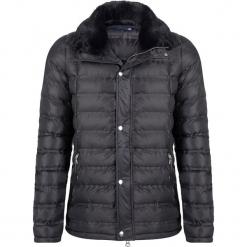Kurtka zimowa w kolorze czarnym. Czarne kurtki męskie Giorgio di Mare, na zimę, z materiału. W wyprzedaży za 347.95 zł.