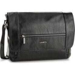 Torba na laptopa LANETTI - RM0409  Czarny. Czarne torby na laptopa damskie Lanetti, ze skóry ekologicznej. Za 139.99 zł.