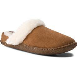 Kapcie SOREL - Nakiska Slide II NL3082 Camel Brown/Natural 224. Brązowe kapcie damskie Sorel, z gumy. W wyprzedaży za 199.00 zł.