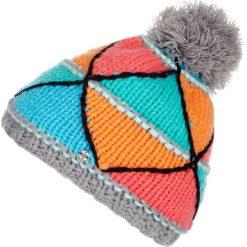 Woox Czapka Zimowa z Pomponem Unisex | Kolorowa Triangle Grey Beanie - Triangle Grey Beanie  -          - 8595564749110. Czapki i kapelusze męskie Woox. Za 48.22 zł.