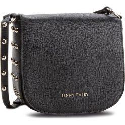 Torebka JENNY FAIRY - RH1199 Black. Czarne listonoszki damskie Jenny Fairy, ze skóry ekologicznej. Za 89.99 zł.
