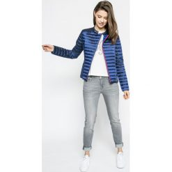 Trussardi Jeans - Kurtka. Szare kurtki damskie TRUSSARDI JEANS, z jeansu. W wyprzedaży za 699.90 zł.