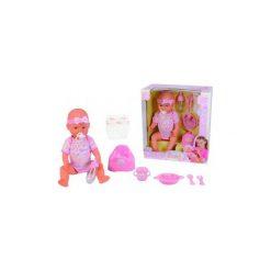 Lalka Simba New Born Baby funkcyjna 5039005. Różowe śliniaki dla dzieci Simba. Za 136.10 zł.
