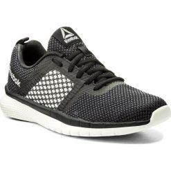 Buty Reebok - Pt Prime Runner Fc CN3153 Blk/Coal/Chlk/Wht/Slv/Stl. Czarne obuwie sportowe damskie Reebok, z materiału. W wyprzedaży za 179.00 zł.