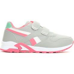 Szaro-Różowe Buty Sportowe Team Leader. Czerwone buty sportowe dziewczęce Born2be, na lato, z materiału. Za 49.99 zł.