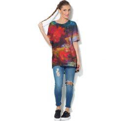 Colour Pleasure Koszulka CP-033  249 czerwono-żółta r. uniwersalny. Bluzki damskie Colour Pleasure. Za 76.57 zł.