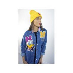 Koszula DAISY Jeans. Niebieskie koszule damskie Missspark, z aplikacjami, z bawełny, klasyczne, z klasycznym kołnierzykiem. Za 399.00 zł.