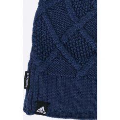 Adidas Performance - Czapka. Niebieskie czapki i kapelusze damskie adidas Performance, z dzianiny. W wyprzedaży za 79.90 zł.
