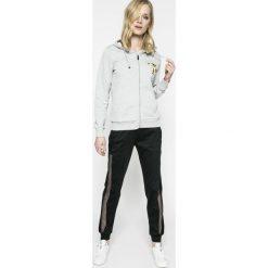 Trussardi Jeans - Bluza. Bluzy sportowe damskie TRUSSARDI JEANS, z bawełny. W wyprzedaży za 239.90 zł.