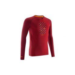 Koszulka BE DIFFERENT czerwona. Czerwone bluzki z długim rękawem męskie SIMOND. Za 44.99 zł.