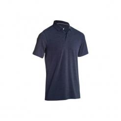Koszulka polo do golfa 500 męska. Niebieskie koszulki polo męskie INESIS, z bawełny. W wyprzedaży za 29.99 zł.