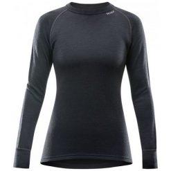 Devold Koszulka Damska Expedition Woman Shirt Black M. Czarne koszulki sportowe damskie Devold, ze skóry, z długim rękawem. Za 329.00 zł.