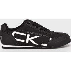 Calvin Klein Jeans - Buty. Czarne buty sportowe męskie Calvin Klein Jeans, z jeansu. Za 439.90 zł.