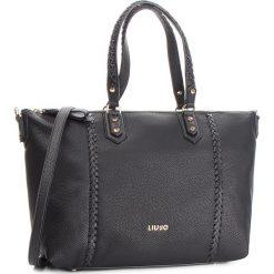 Torebka LIU JO - M Tote Ceresio N68046 E0033 Nero 22222. Czarne torebki do ręki damskie Liu Jo, ze skóry ekologicznej. W wyprzedaży za 479.00 zł.