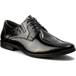 Półbuty LASOCKI FOR MEN - MI08-C345-383-02 Czarny. Czarne eleganckie półbuty Lasocki For Men, z lakierowanej skóry. Za 199.99 zł.