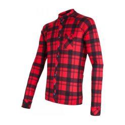 Sensor Koszulka Rowerowa Dres Square Black/Red M. Czarne t-shirty i topy dla dziewczynek Sensor, z dresówki. W wyprzedaży za 229.00 zł.