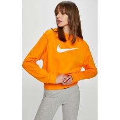 Nike Sportswear - Bluza. Szare bluzy damskie Nike Sportswear, z nadrukiem, z bawełny. W wyprzedaży za 179.90 zł.