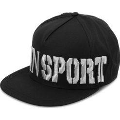 Czapka z daszkiem PLEIN SPORT - Baseball Cap MAC0256  Black 02. Czarne czapki i kapelusze męskie Plein Sport. W wyprzedaży za 539.00 zł.
