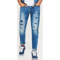 Jeansy COMFORT - Niebieski. Niebieskie jeansy męskie Cropp. Za 129.99 zł.