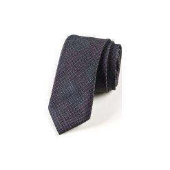Krawat męski  GREY. Szare krawaty i muchy Hisoutfit, z materiału. Za 129.00 zł.