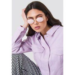NA-KD Accessories Owalne okulary przeciwsłoneczne - Purple. Fioletowe okulary przeciwsłoneczne damskie NA-KD Accessories. Za 80.95 zł.