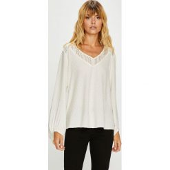 Roxy - Bluzka. Szare bluzki damskie Roxy, z materiału. W wyprzedaży za 239.90 zł.