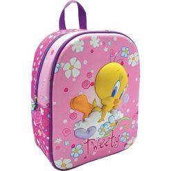 Eurocom Plecak dziecięcy 3D Tweety różowy. Torby i plecaki dziecięce marki Tuloko. Za 52.82 zł.