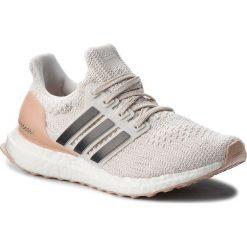 Buty adidas - UltraBoost W BB6492 Clowhi/Carbon/Ftwwht. Białe obuwie sportowe damskie Adidas, z materiału. W wyprzedaży za 519.00 zł.