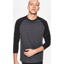 Koszulka BASIC z długim rękawem - Czarny. Bluzki z długim rękawem męskie marki Marie Zélie. Za 39.99 zł.